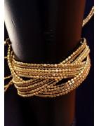 Bracelets, manchettes, chevillères, panjas, anklets
